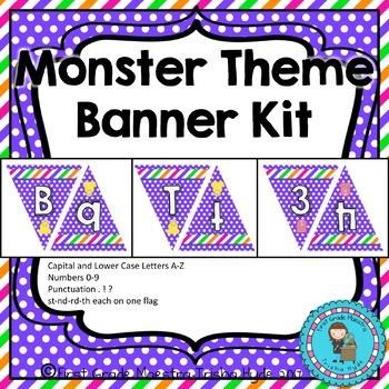 Monster Theme Custom Banner