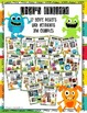 Monster Theme Genre Posters Set