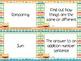 Monster Theme Grade One CCSS Complete Vocabulary Program