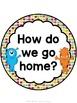 Monster Theme How Do We Go Home Chart