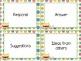 Monster Theme Kindergarten CCSS Complete Vocabulary Program
