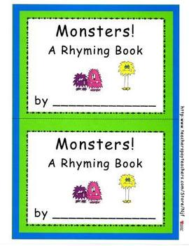Monster Theme Math, Literacy, and More! Bundle Pack