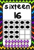 Monster Classroom Decor - Number Posters to 20