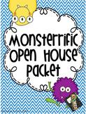 Monster Chevron Theme Open House / Meet the Teacher Pack {