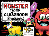 Monsters Theme Decor Pack