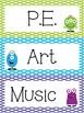 Monster Theme Polka Dot Classroom Decor Pack