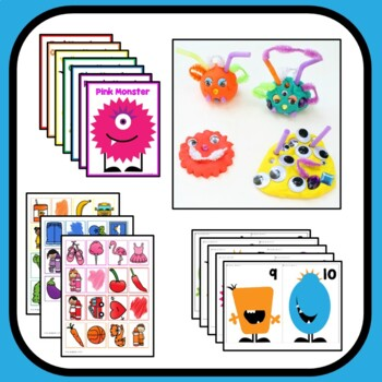 Monster Theme Preschool Lesson Plans