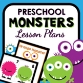 Monster Theme Preschool Lesson Plans