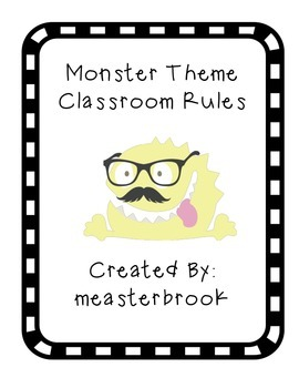 Monster Theme Rules