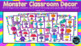 Monster Theme Shape Posters - Classroom Decor