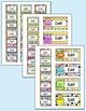 Monster Theme Teacher Toolbox Supply Labels