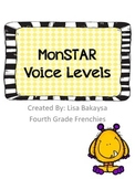Monster Theme Voice Level Cards