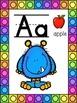 Monster Themed Alphabet Posters