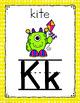 Monster Themed Alphabet Posters-Classroom Decor