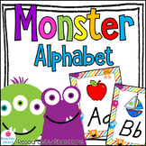 Monster Themed Classroom Alphabet Posters