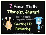 Monster Themed BASIC MATH Adapted Books