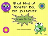Monster Themed Behavior Clipchart System
