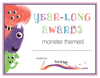 Year-Long Awards (Monster Themed)