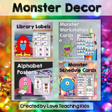 Monster Classroom Theme Bundle