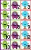 Monster Themed Classroom Calendar Set