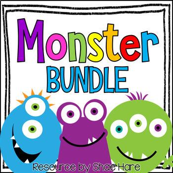 Monster Themed Classroom Decor BUNDLE [Back to School]