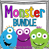 Monster Themed Classroom Decor BUNDLE [Back to School]