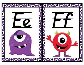 Monster Themed Classroom Decor Pack