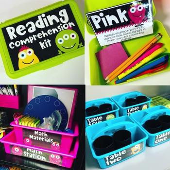 Monster Themed Classroom GROWING Bundle