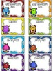 EDITABLE Monster Themed Classroom Passes
