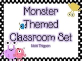 Monster Themed Classroom Set