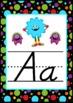 Monster Themed D'NEALIAN Alphabet Posters