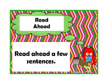 Monster Themed Fix-Up Strategies for Comprehension