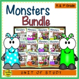Monster Themed Literacy & Math Bundle