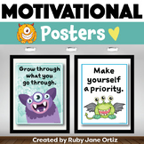 Monster Classroom Theme - Posters for Back to School Bulletin Boards