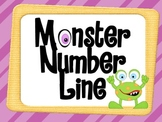 Monster Themed Number Line