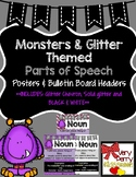 Parts of Speech- Monster Posters