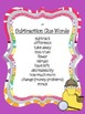 Monster Themed Problem Solving Clue Words Poster Set
