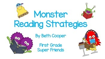 Monster Themed Reading Mini Posters