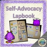 All About Me Monster-Themed Self-Advocacy Lapbook