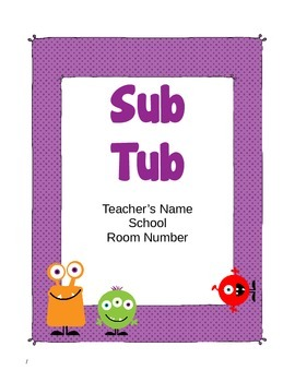 Monster Themed Substitute Materials