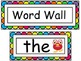 Monster Themed Word Wall