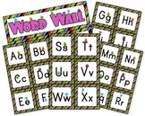 Monster Themed Word Wall Labels