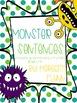 Monster Themed Writing Mechanics in Grades 2-4 {Common Core Aligned}