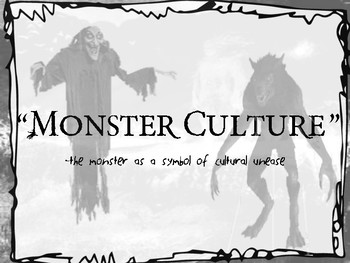 Monster Theory Powerpoint