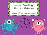 Monster Time Bingo Hour and Half-Hour