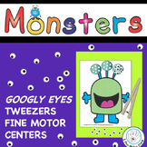 Monster Tongs or Tweezers Fine Motor Centers