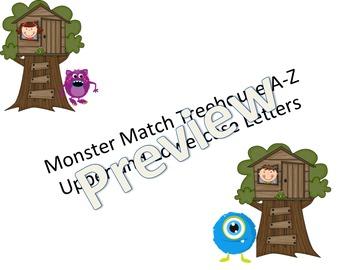 Monster Treehouse Match A-Z