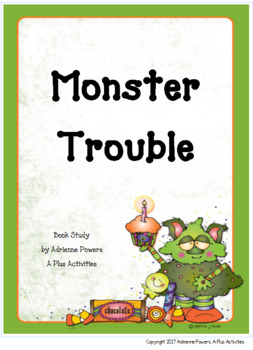 Monster Trouble Book Companion