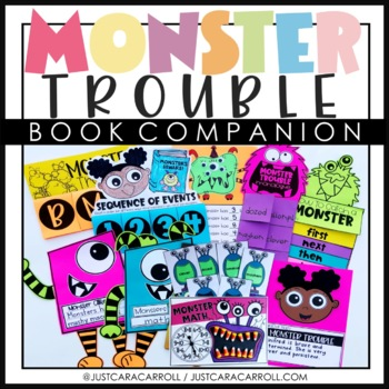 Monster Trouble Book Companion