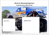 Monster Truck Organiser